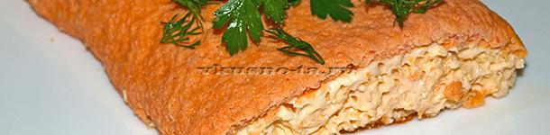 Рецепт омлета с помидорами в мультиварке