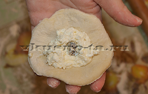 Сладкие вареники с творогом, пошаговый рецепт с фото