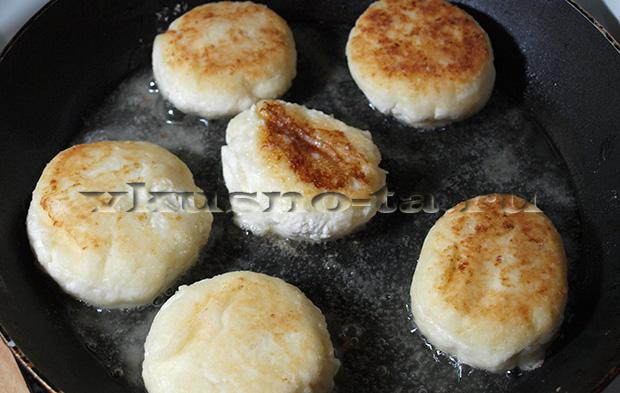 Сырники на творожной массе - рецепт пошаговый с фото