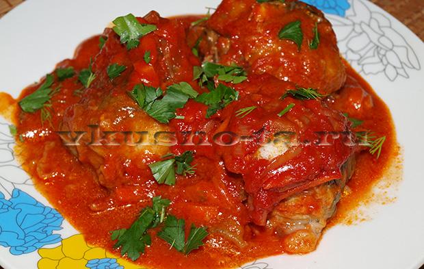 рецепты с рыбой с томатной пастой